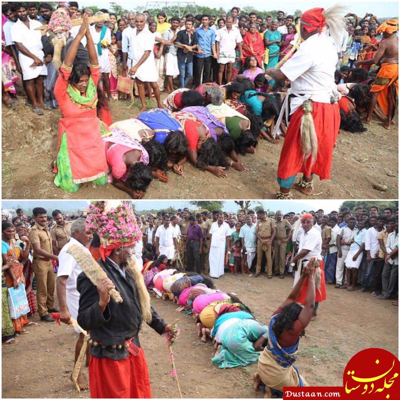 کتک زدن زنان برای خارج کردن روح شیطانی! +عکس