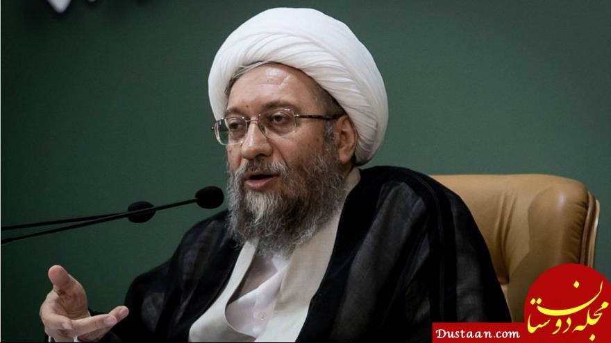 www.dustaan.com روایت آملی لاریجانی از شائبه فساد در قوه قضاییه و حضور در فضای مجازی