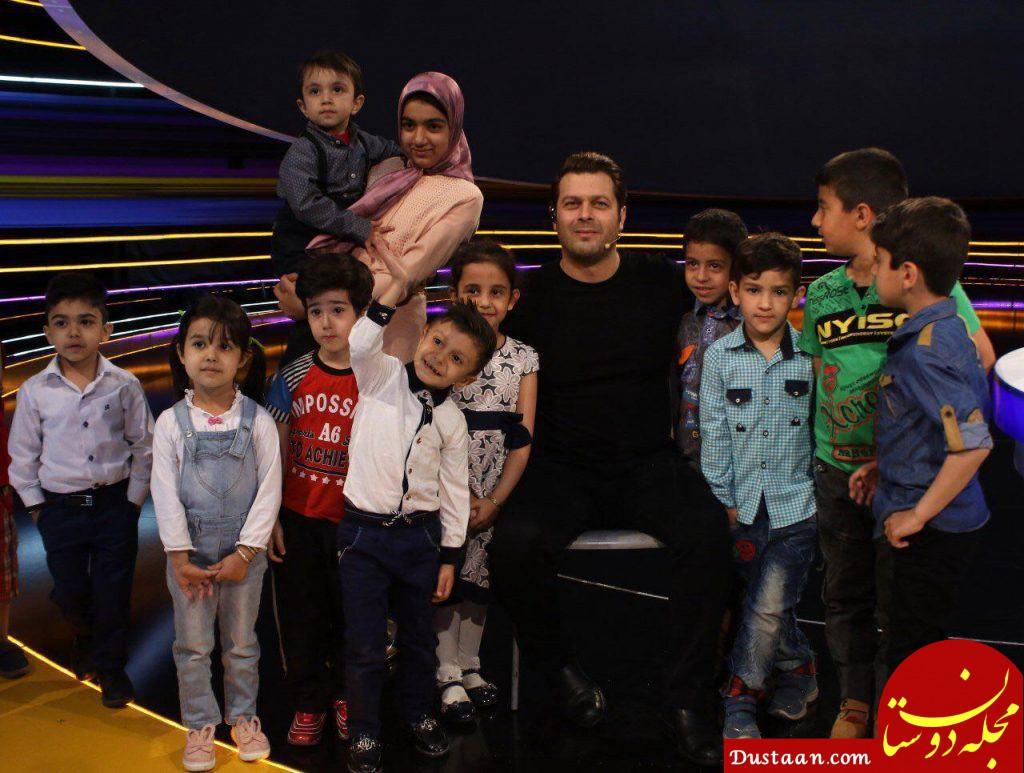 www.dustaan.com خداحافظی پژمان بازغی از کودک شو در اعتراض به داوری ها!