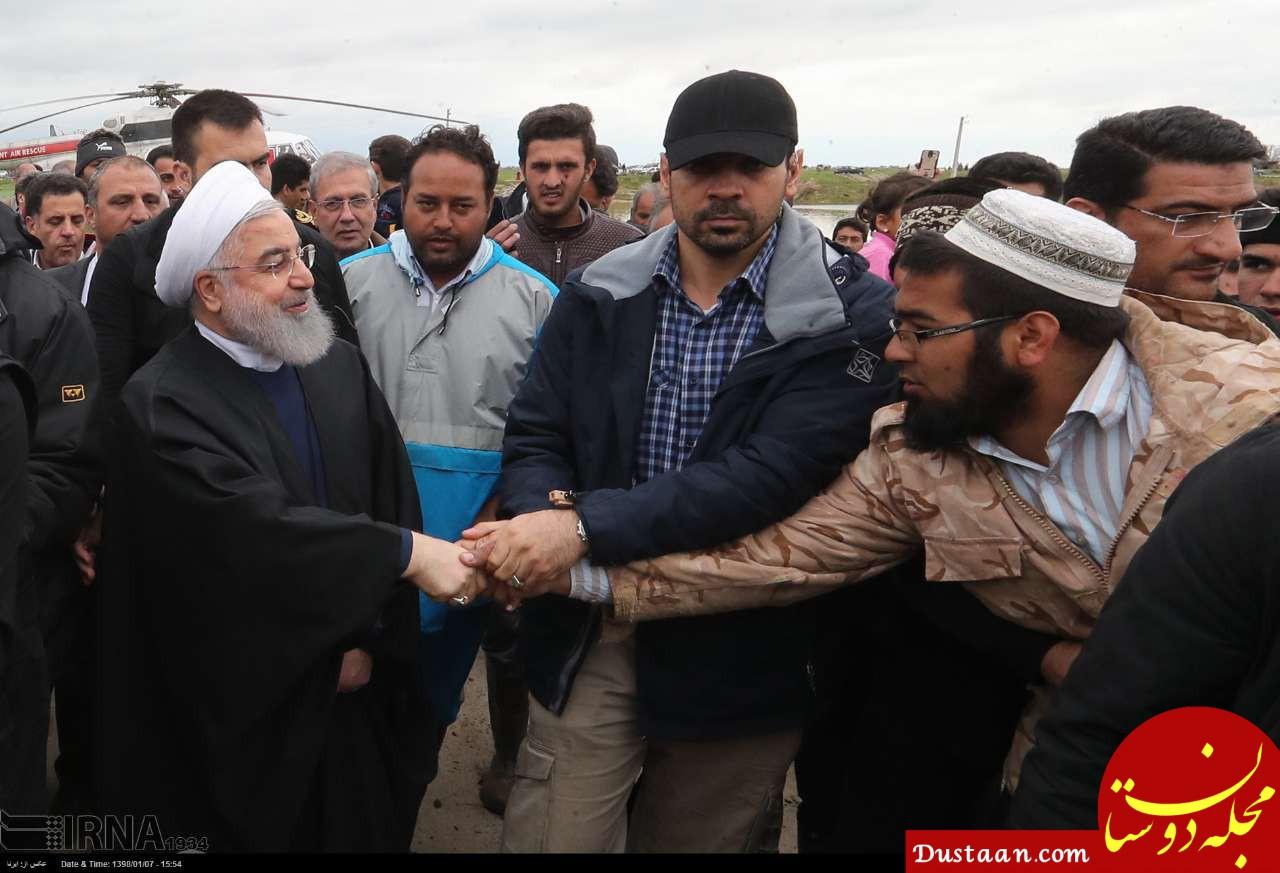 www.dustaan.com روحانی: دولت با همه توان در کنار و در خدمت مردم است