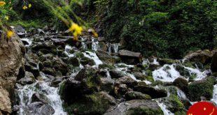 عکس های زیبا از آبشار « آب پری » در مازندارن