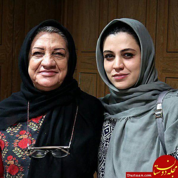 www.dustaan.com ناهید مسلمی و دخترش شیدا خلیق در یک قاب +عکس