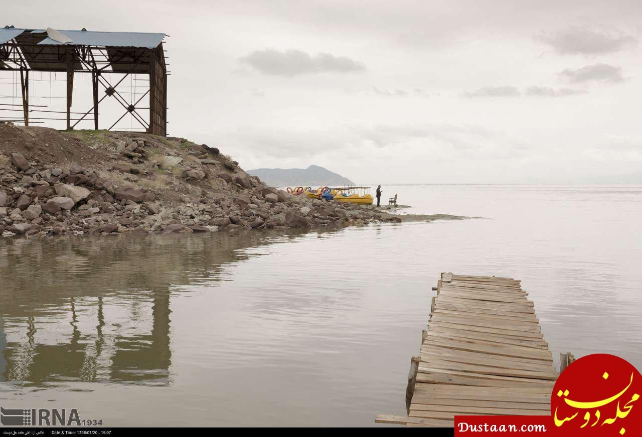 www.dustaan.com جان گرفتن دوباره دریاچه ارومیه +تصاویر