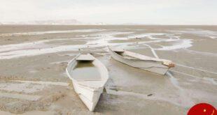 جان گرفتن دوباره دریاچه ارومیه +تصاویر