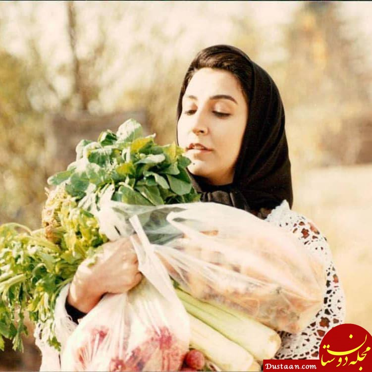www.dustaan.com چهره دیدنی مرجانه گلچین 26 سال پیش! +عکس