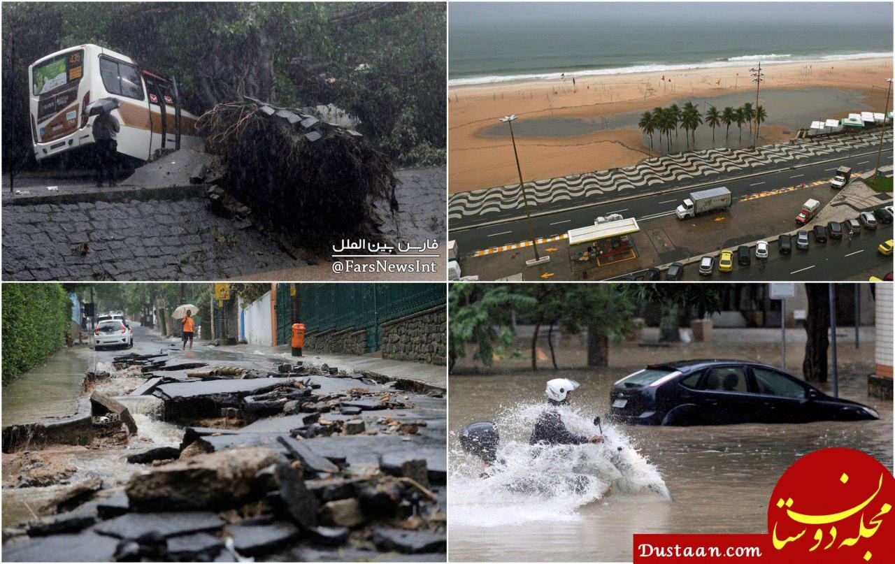www.dustaan.com سیل مرگبار در برزیل +تصاویر