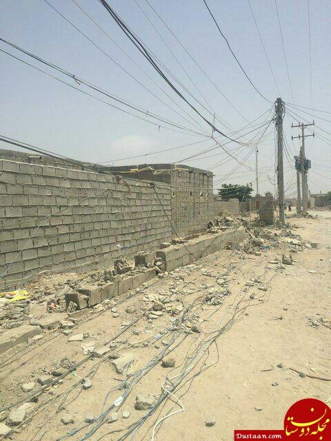 www.dustaan.com کودکان قربانیان سیم های لخت برق