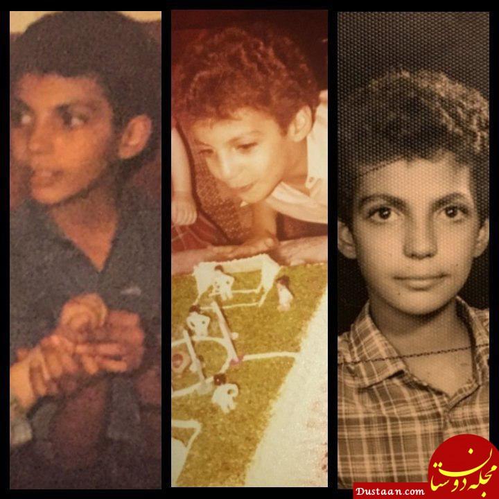 www.dustaan.com عکس های جالب از کودکی عادل فردوسی پور!