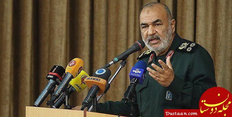 www.dustaan.com فرمانده کل سپاه:باید قلمرو اقتدارمان را از منطقه به جهان گسترش دهیم