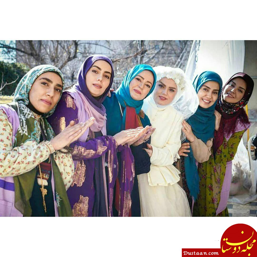 www.dustaan.com عکس های زیبا از پشت صحنه سریال نون خ