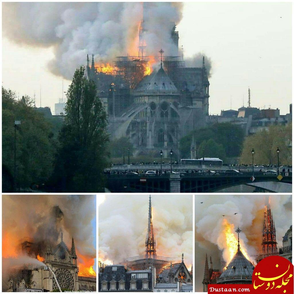 www.dustaan.com دلیل اهمیت کلیسای نوتردام پاریس برای جهان چیست؟