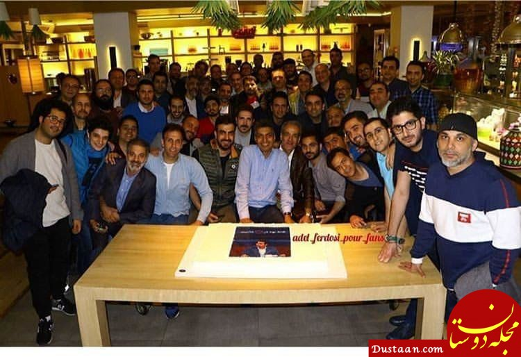 جشن نودی ها برای عادل فردوسی پور +عکس
