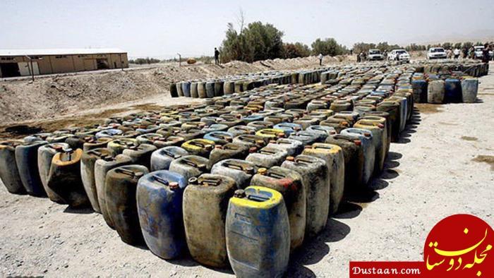www.dustaan.com توقیف بزرگ ترین محموله سوخت قاچاق