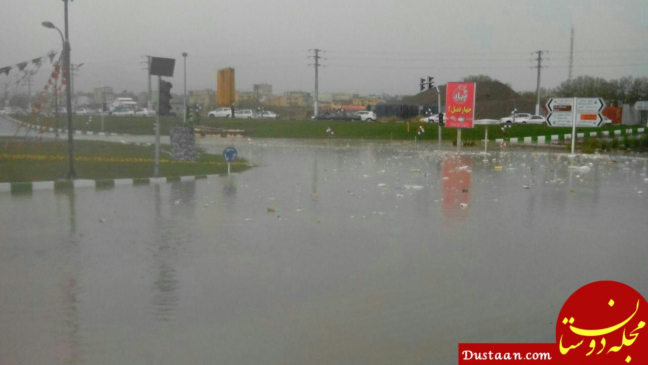www.dustaan.com هشدار بارش باران های سیل آسا در 14 استان از شنبه 24 فروردین