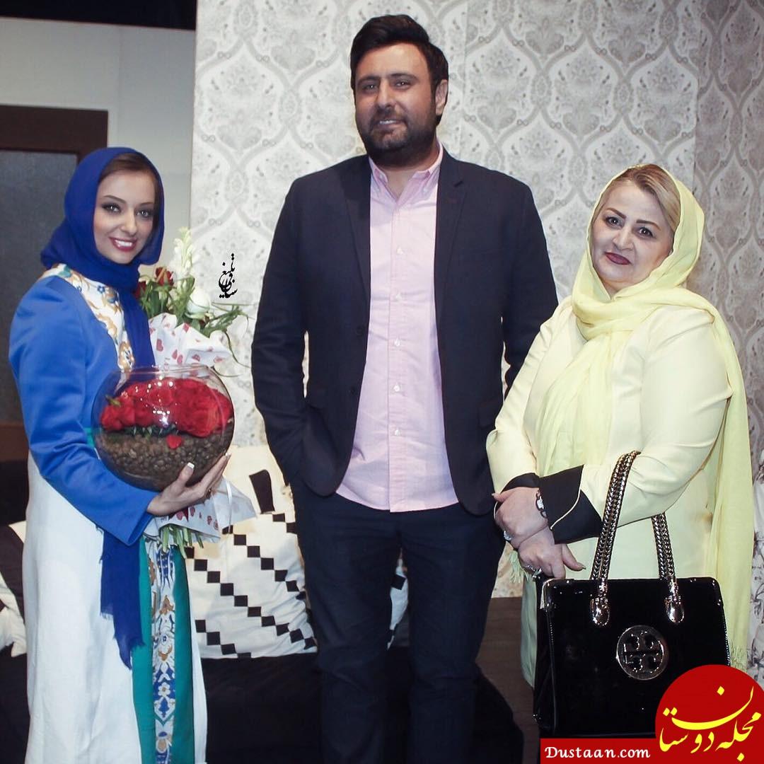 www.dustaan.com محمد علیزاده و خواهرش در یک قاب +عکس
