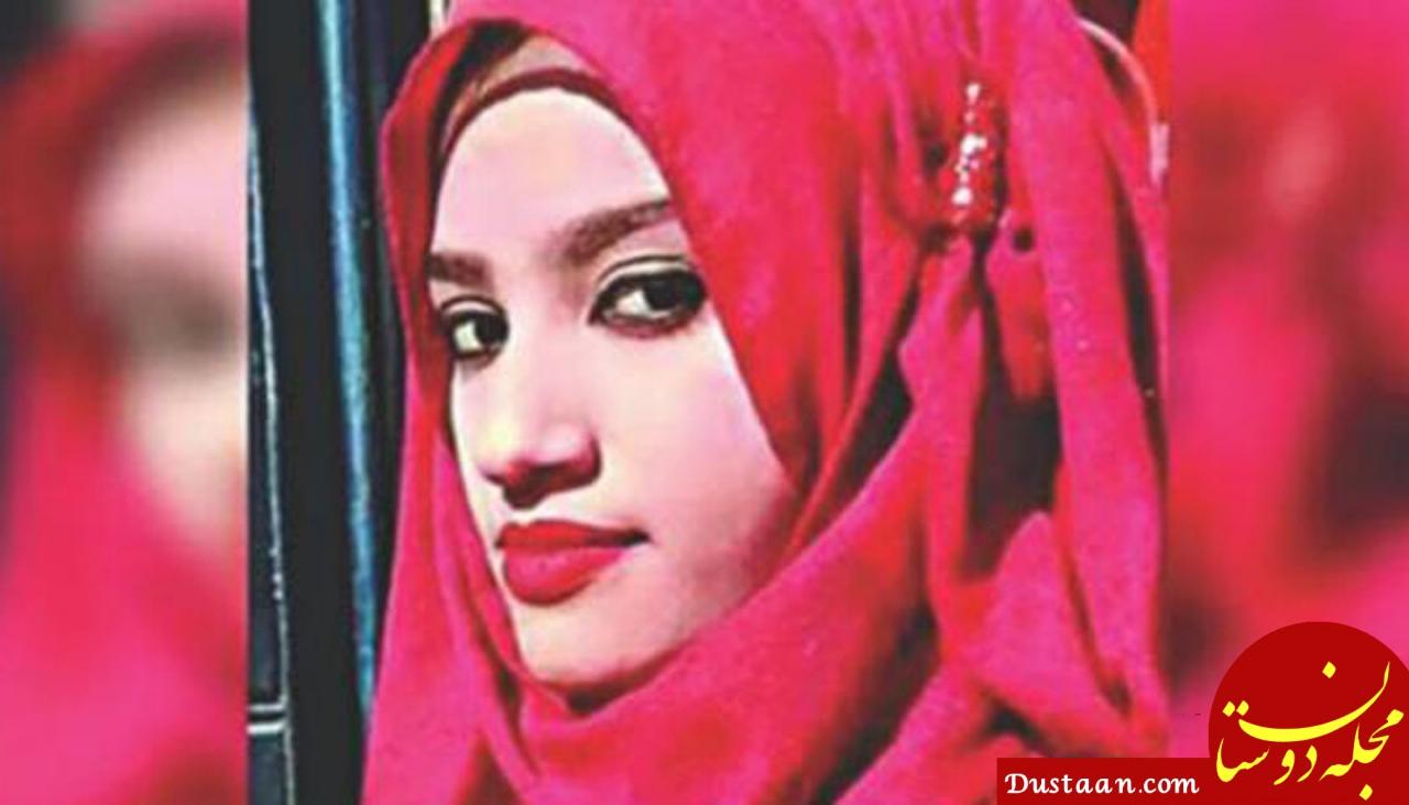 www.dustaan.com آتش زدن وحشیانه دختر جوان به دستور مدیر مدرسه +عکس