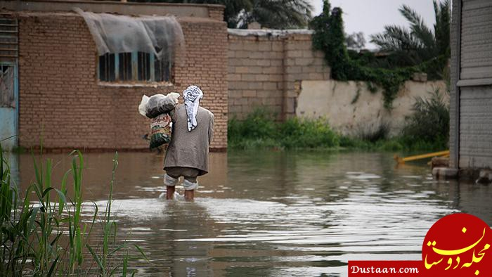 www.dustaan.com کلانتری : منافع این سیل، 10 برابر خسارت هایش بود
