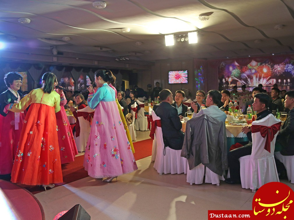 www.dustaan.com عروس و دامادها در کره شمالی