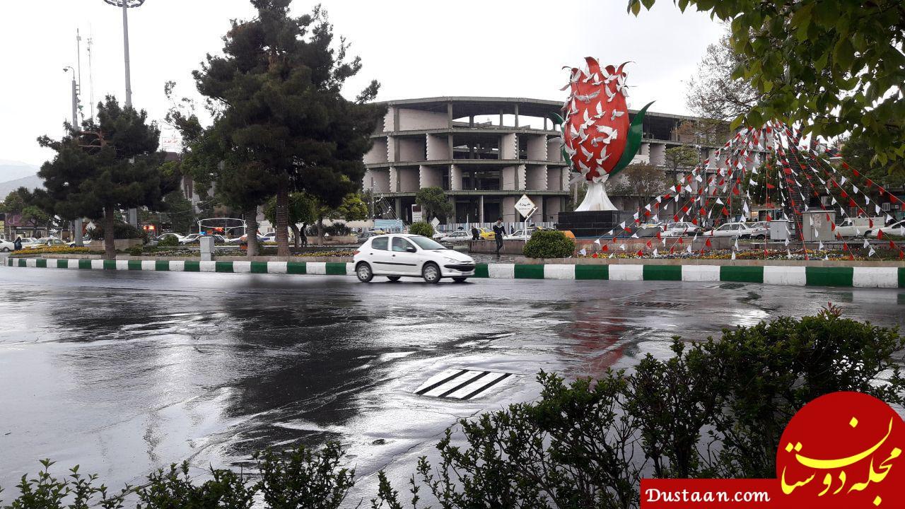 www.dustaan.com بارش باران در ۹ استان کشور تقویت می شود