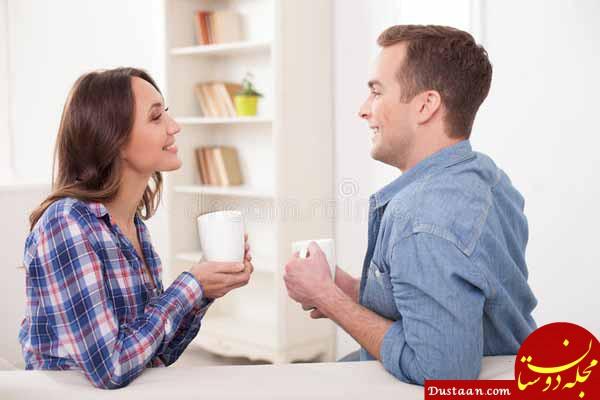 www.dustaan.com هر روز برای صحبت با همسرتون وقت بگذارین!!