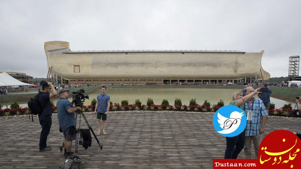 www.dustaan.com باران کشتی نوح را تخریب کرد! +عکس