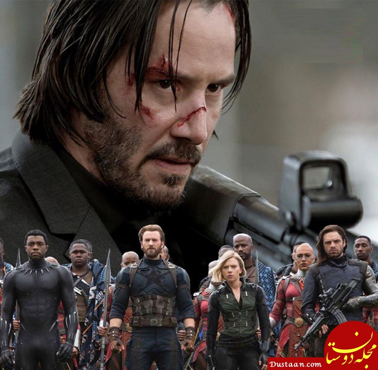 www.dustaan.com «جان ویک 3» به صدرنشینی «انتقام جویان» پایان داد