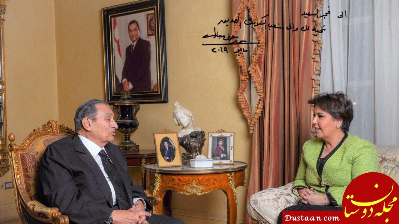 www.dustaan.com اولین گفت و گوی حسنی مبارک با رسانه ها بعد از سرنگونی