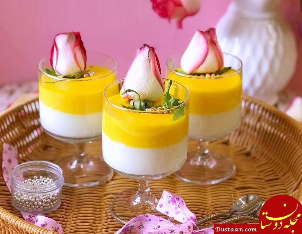 www.dustaan.com طرز تهیه دسرهای مجلل برای ماه رمضان (1)