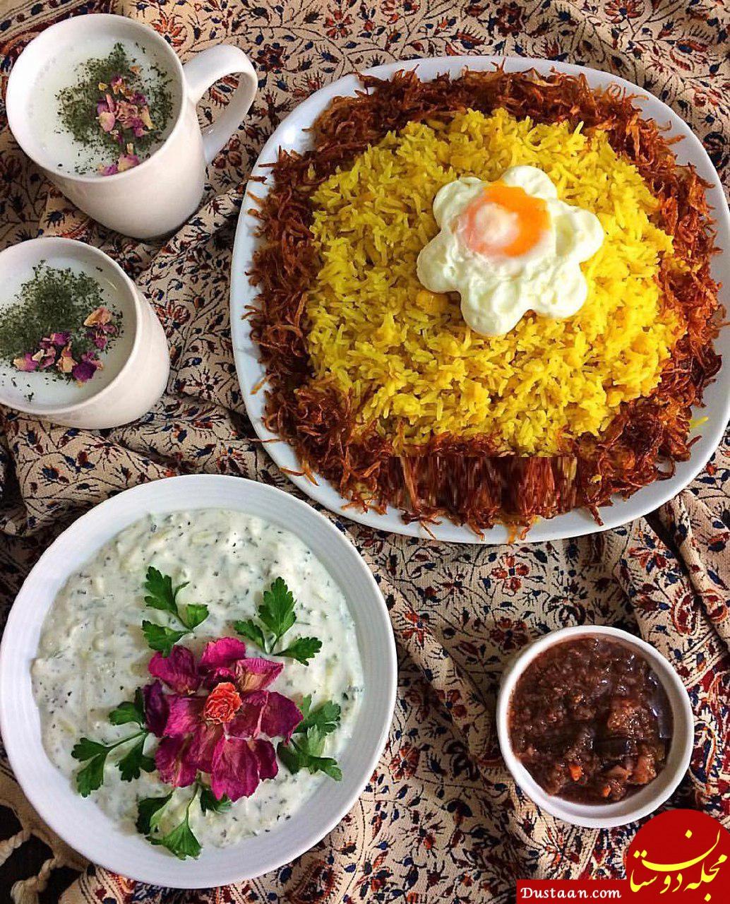 www.dustaan.com طرز تهیه دمی باقلا ( باقلای زرد ) به سبکی خوشمزه