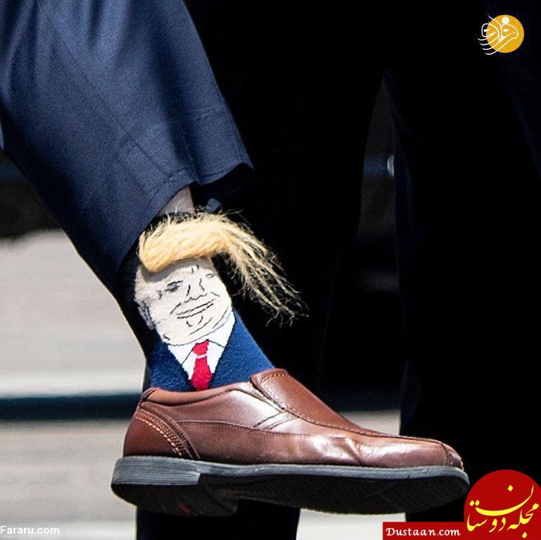 www.dustaan.com استقبال متفاوت از دونالد ترامپ! +عکس