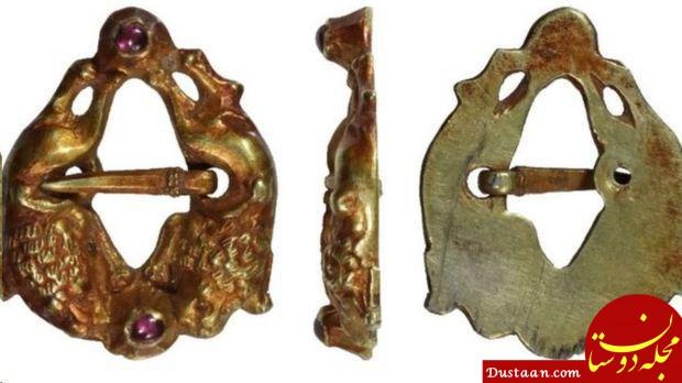 کشف سنجاق سینه 800 ساله در شرق انگلستان +عکس