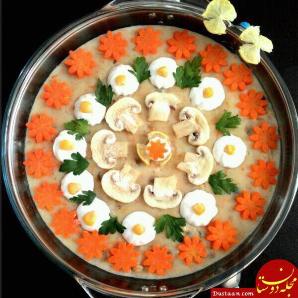 www.dustaan.com طرز تهیه سوپ شیر به سبکی متفاوت و خوشمزه