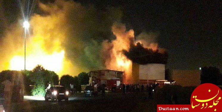 www.dustaan.com شهربازی سینما پنج بعدی اهواز آتش گرفت