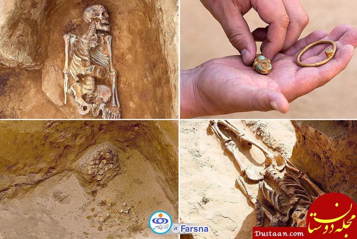 www.dustaan.com کشف بقایای یک شاهزاده دو هزارساله +عکس