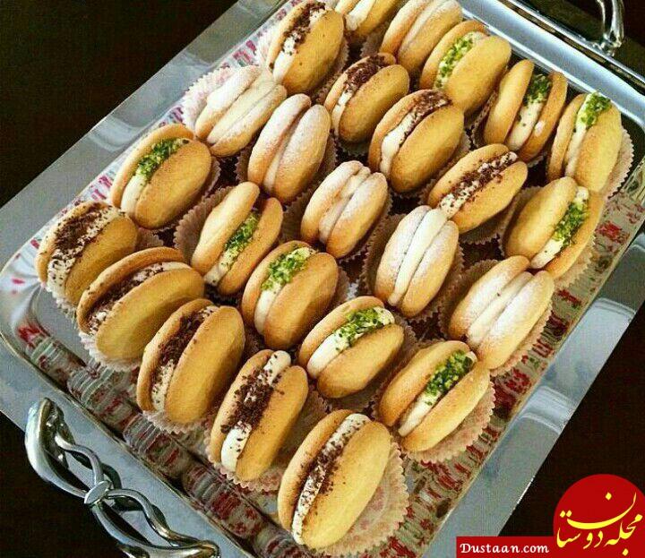www.dustaan.com طرز تهیه شیرینی لطیفه به سبکی خوشمزه و متفاوت