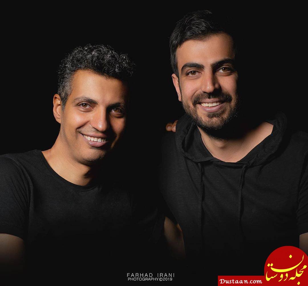 www.dustaan.com شباهت جالب عادل فردوسی پور و برادرش به هم! +عکس