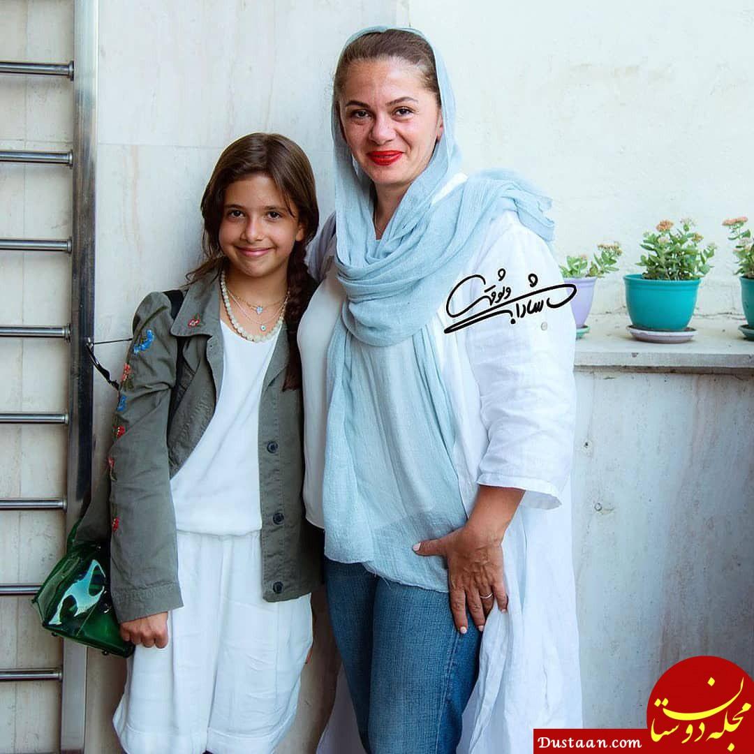 www.dustaan.com بیوگرافی و عکس های جذاب پژمان بازغی ، مستانه مهاجر و دخترشان نفس