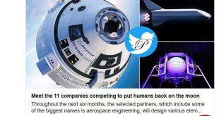 رقابت 11 کمپانی برای بازگشت به ماه