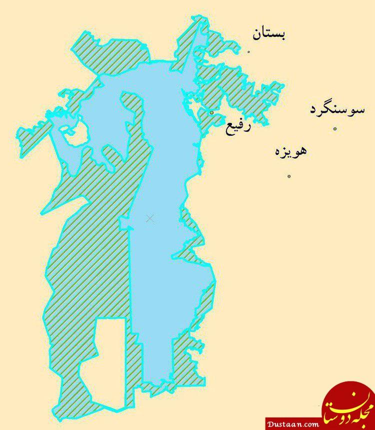 www.dustaan.com هورالعظیم از مرگ تدریجی نجات یافت