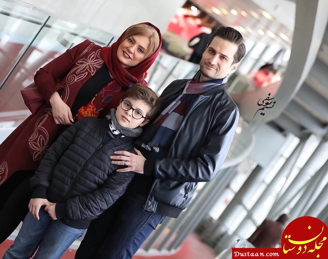 بیوگرافی و عکس های جذاب پویا امینی ، همسر بیتا بجانلی و فرزندش