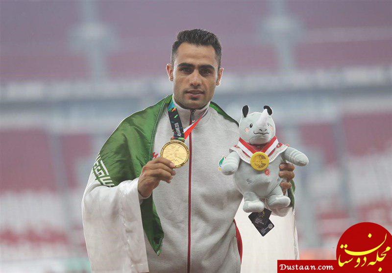 www.dustaan.com واکنش فدراسیون دو و میدانی به احتمال دوپینگی بودن حسین کیهانی