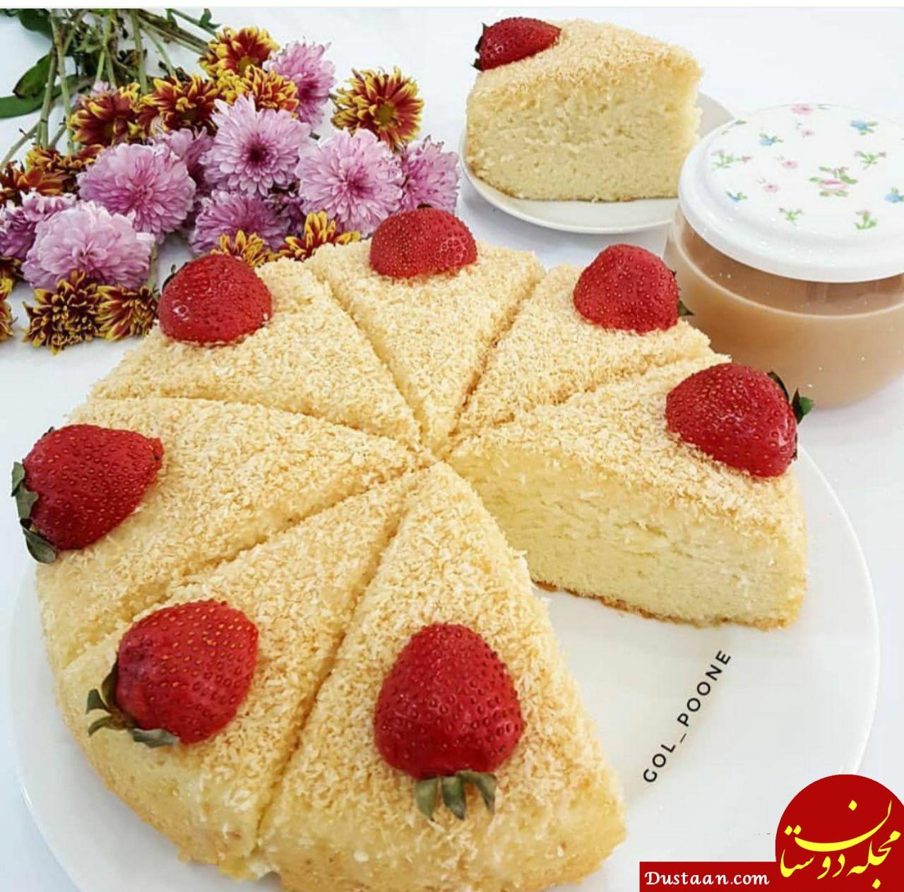 www.dustaan.com - طرز تهیه کیک شنی به سبکی خوشمزه و متفاوت