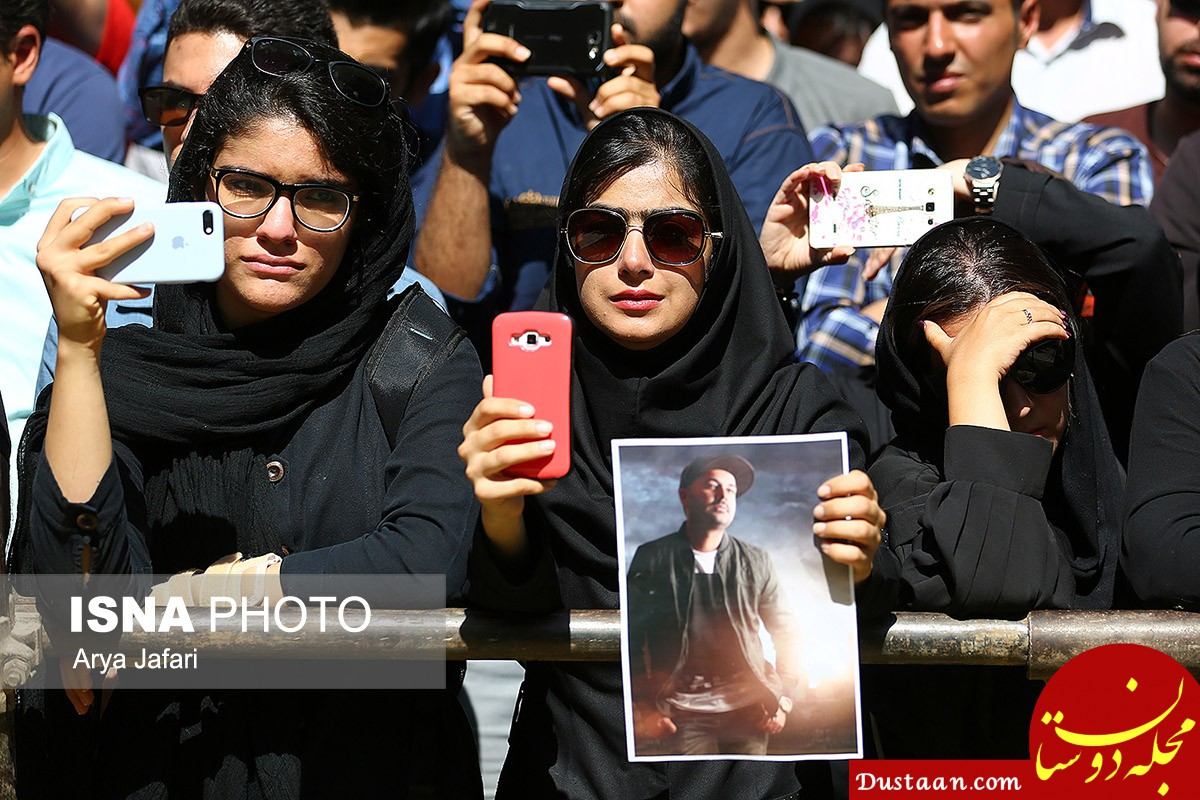 www.dustaan.com گزارش مراسم تشییع بهنام صفوی + عکس