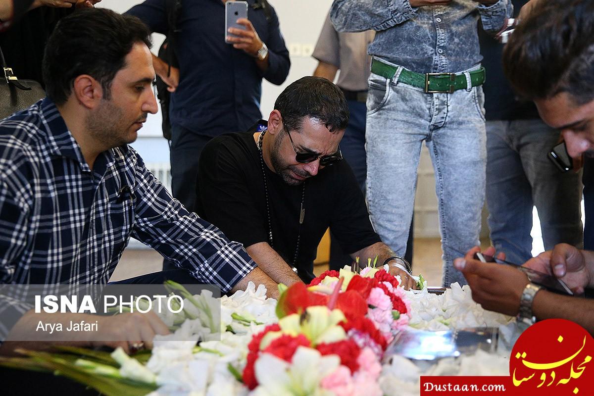 www.dustaan.com-گزارش مراسم تشییع بهنام صفوی + عکس