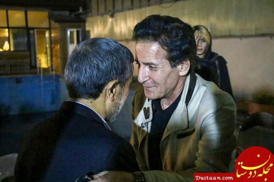 www.dustaan.com رضا رویگری و ابوالفضل پورعرب در افطاری احمدی نژاد +عکس