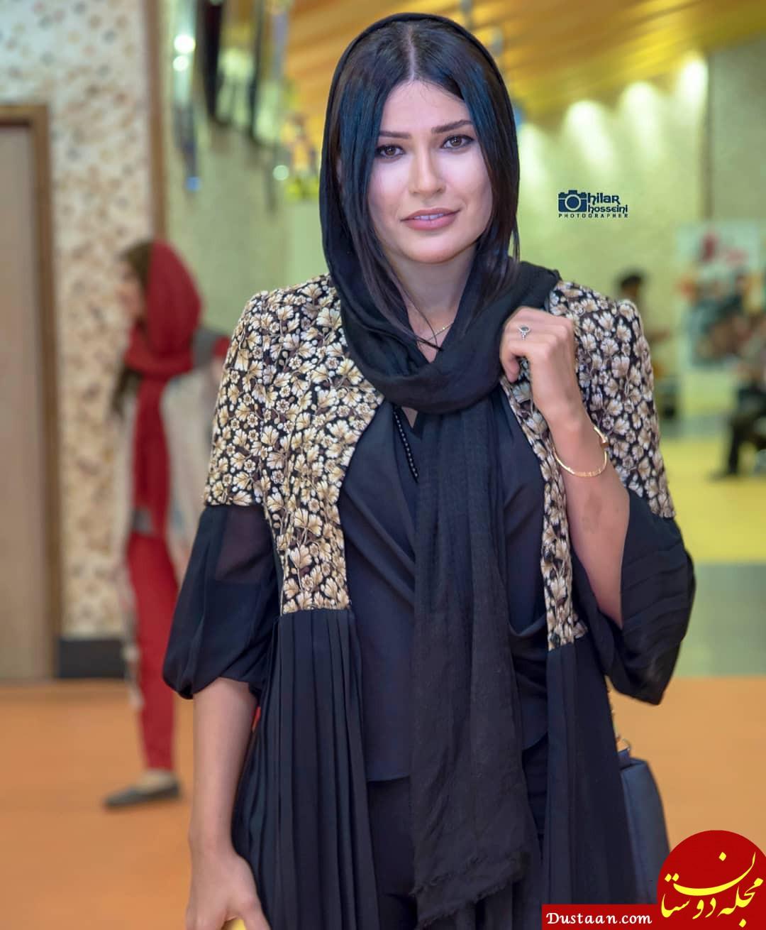 www.dustaan.com ازدواج لاکچری و عجیب شیوا طاهری ،بازیگر سریال گذر از رنج ها!