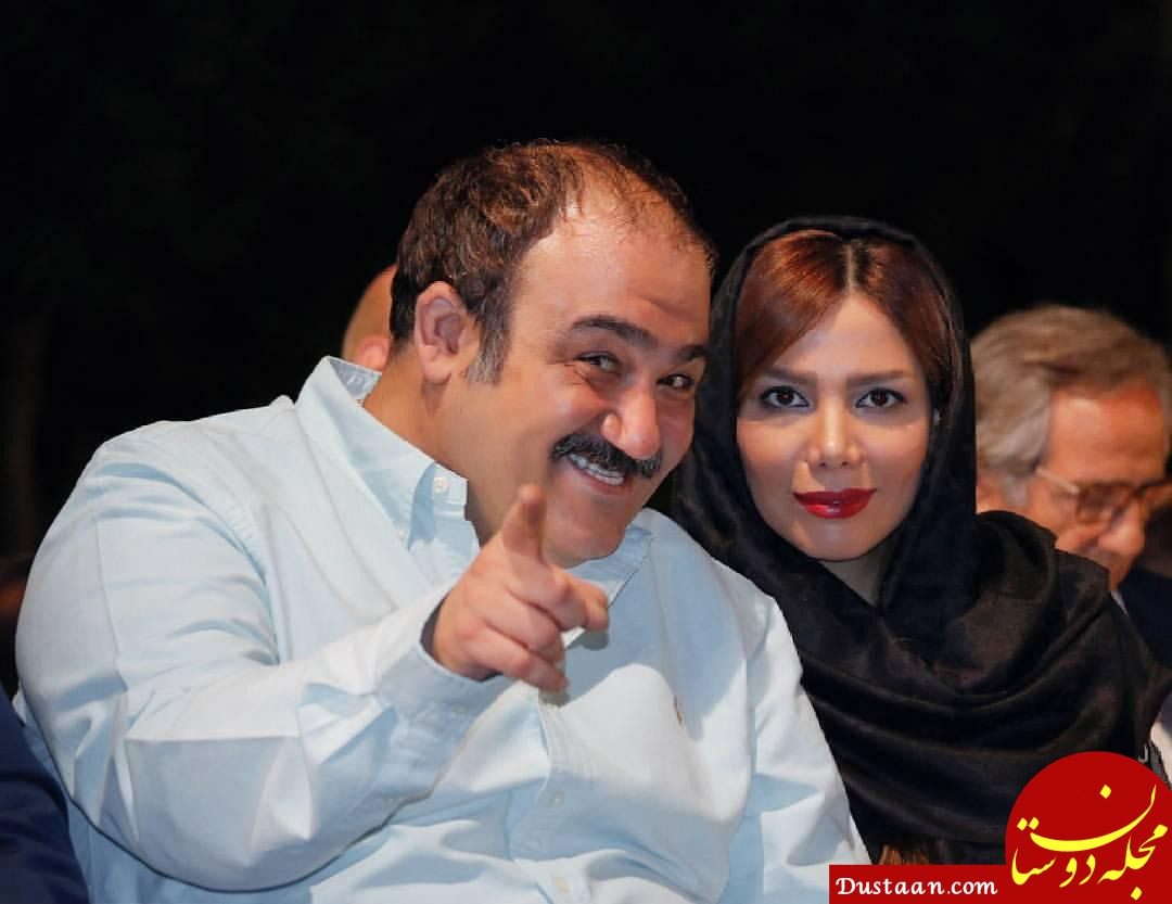 www.dustaan.com بیوگرافی و عکس های جذاب مهران غفوریان ، همسر و دخترش هانا