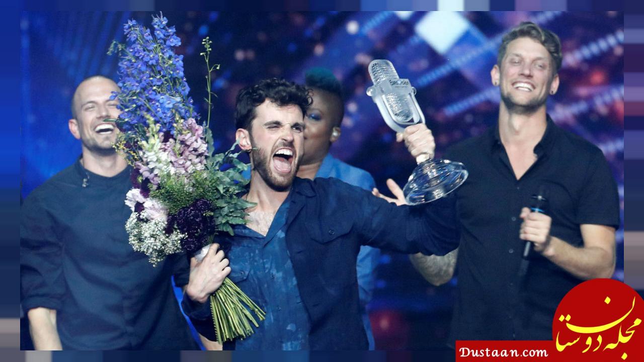 www.dustaan.com هلند برندۀ فینال رقابت آواز یوروویژن ۲۰۱۹ شد