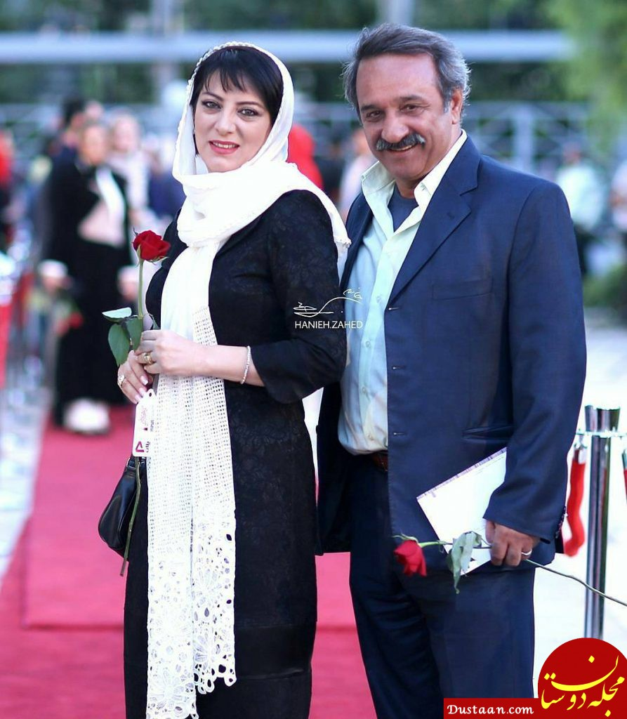 www.dustaan.com بیوگرافی و عکس های علی اسیوند و همسرش حمیرا ریاضی
