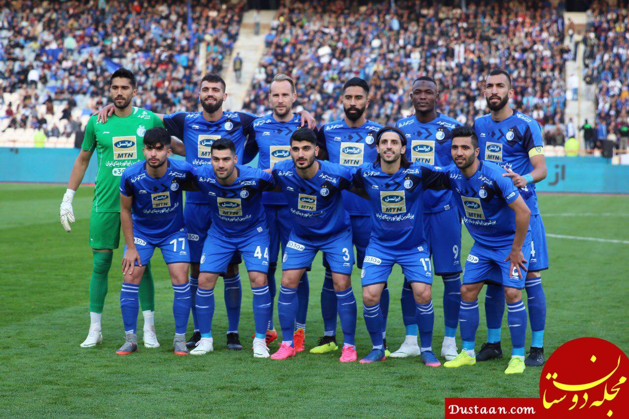 www.dustaan.com مذاکره استقلال با شش بازیکن برای تمدید قرارداد